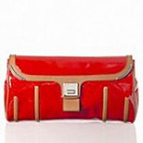 Celine  Nwt 990 Corset Patent Leather Clutch  Photo