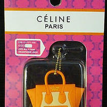Celine Orange Bag Dust Plug Keychain 3 for Cell Phone Iphone Ipod Etc Photo