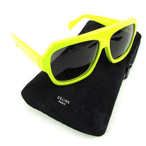 Celine Paris Lime Green Sunglasses  Case Cl 41806s 67uvk  399  Photo