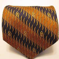 Celine Paris Pure Silk Necktie Made in Spain Photo