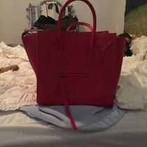 Celine Phantom Bag Red Photo