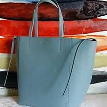 Celine Phantom Cabas Bag in Antique Blue