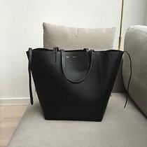Celine Phantom Cabas Tote Black on Black Bag Photo