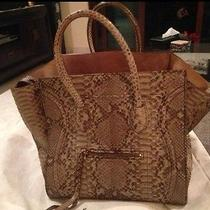 Celine Phantom in Natural Python - Rare Rare Rare Photo