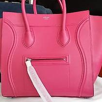 Celine Phantom Luggage in Fucshia Photo