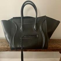 Celine Phantom Medium Luggage Calfskin Leather Tote Photo