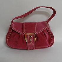Celine Purse Pink Suede  Photo