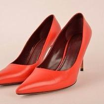 Celine Red Heels Pumps Photo