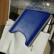 Celine Royal Blue Iphone 4/4s/5/5s Pouch Photo