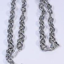 Celine Silver Blason Chain Belt / Necklace Photo