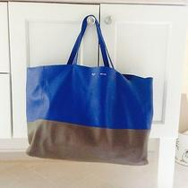 Celine Tote Blue and Grey Photo