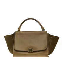 Celine Trapeze Suede Medium Photo