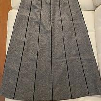 Celine Wool Cashmere Aline Long Skirt Size 38 Excellent Condition Made in France Photo