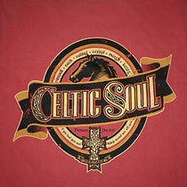 Celtic Soul Irish Band Folk Music Adult T-Shirt Medium Music Alternative Ireland Photo