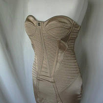 Celyn B Blush Nude Pink Beige Corset Style Dress Sz. 42 Uk 10 Us 6 Photo