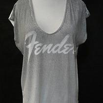 Cha Ser Chaser Fender White Print T Shirt Top S Photo