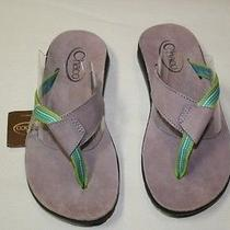 Chaco Flip-Flop - Violet/green Size 6 Photo