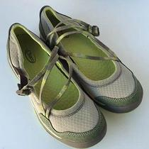 Chaco Keel Mary Jane Strappy Athletic Sandal Shoe Loden Green Size 8m Nwob Photo