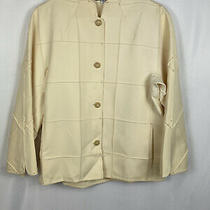 Chado Blush Pink Fine Wool Blazer Style Jacket  Size 4 Heavenly for Summer Photo