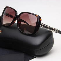 Chain Collection Chanel Coco Sunglasses Coco Authentic Brown Gold 2014 New Photo