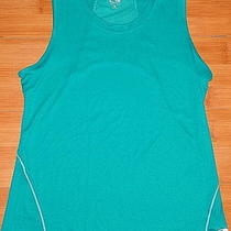 Champion Sleeveless Aqua Performance Top Size Medium Photo