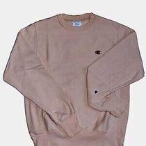 Champion Urban Outfitters Crewneck Sweatshirt Pink Sz Small Reverse Weave Photo