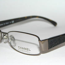 Chanel 2151tb 2151 T B 275 Bronze Tortoise 53 Eyeglasses Stone Sale Rx  Free Sh Photo