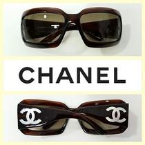 Chanel 415 Mother-of-Pearl Cc's Brown Frame 5076-H C.538/13 Sunglasses Photo
