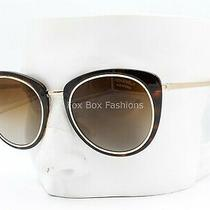 Chanel 4202 395/s9 Sunglasses Brown Tortoise / Gold Brown Polarized Display Photo