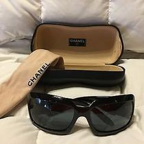 Chanel 5076-H Black Mother of Pearl Sunglasses Photo