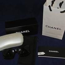 Chanel 5076-H Brown Tortoise Shell Mother of Pearl Logo Cc Frame Sunglasses Photo