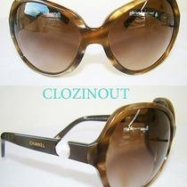 Chanel 5141-H Sunglasses Brown Pearl Collection Perle Cc Coco Chanel Sunglasses Photo