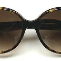 Chanel 5245 714/s5 Sunglasses Dark Brown Tortoise / Gold Cc Logo Blemish Photo