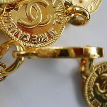 Chanel Authentic Chain Gold Plated Belt Photo