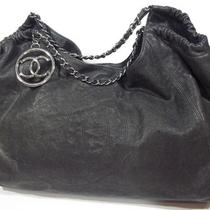 Chanel Authentic Distressed Caviar Leather Hobo Chain Strap Exc Cond 5000 Photo