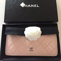Chanel Baby Pink Wallet Photo