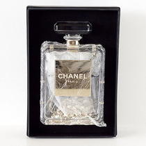Chanel Bag Clear Perfume Bottle New Gift Box Photo
