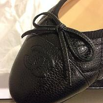 Chanel Ballerina Flats- Size 40.5 New in Box Photo