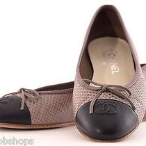 Chanel Ballet Flats With Logo Photo