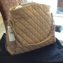 Chanel Beige Lambskin Large Chain Me Shoulder Bag Hobo.  Photo
