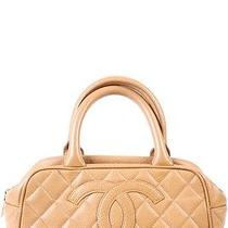 Chanel Beige Small Bowler Photo