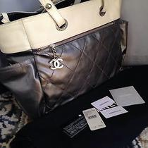 Chanel Biarritz Large Metallic Tote Photo
