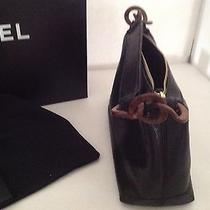 Chanel Black Calfskinhologram Card Original Box Etc.. Great Gift Idea Photo