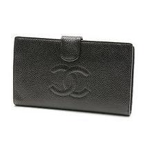 Chanel Black Caviar Leather Classic