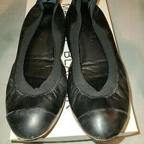 Chanel Black Flats 38  Photo