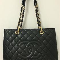 Chanel Black Grand Shopper Tote  Photo