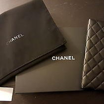 Chanel Black Lambskin Notebook New Authentic With Tags Like Bag Handbag Photo