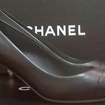 Chanel Black Lambskin Pumps Amazing Price Photo