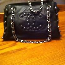 Chanel Black Lambskin Rock and Chain  Bag Photo