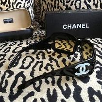 Chanel Black Mother of Pearl Sunglasses 5076 Photo